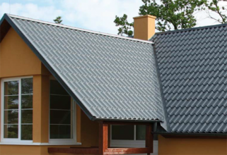 Lindab Tile Effect Sheeting