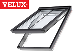 Velux Conservation Top Hung White Painted Windows