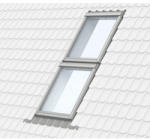 Velux Duo Slate Flashing