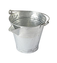 Galvanised V Lip Bucket