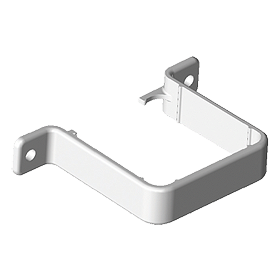 Freeflow Square Pipe Clip (Flush)