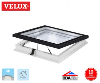 Velux INTEGRA Flat Glass Electrical Opening Rooflight 080080 98cm x 98cm