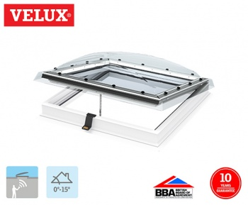 Velux INTEGRA Clear Electrical Opening Dome 060090 78cm x 108cm