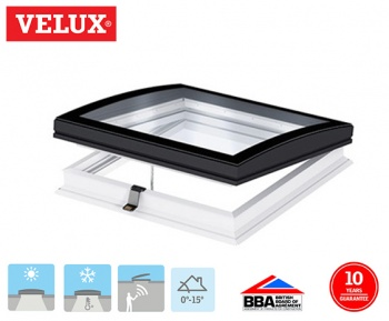 Velux INTEGRA Curved Glass Electrical Opening Rooflight 090120 108cm x 138cm