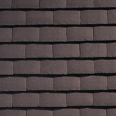 Plain Tile Brown Smoothfaced