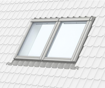 Velux Coupled Combi Tile Flashing EKW 0021E 66x118