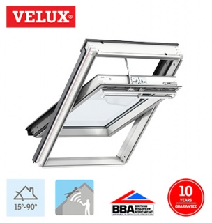 Velux Integra Electric White Painted Finish MK06 78cm x 118cm