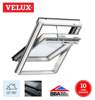 Velux Integra Solar White Painted Finish CK06 55cm x 118cm