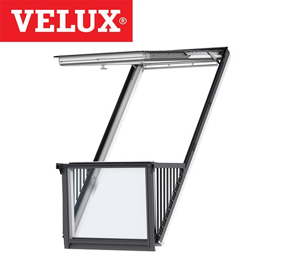 Velux Gdl Sk19 Single Cabrio Balcony System 114cm X 252cm Roofnstop Ie