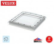 Velux Fixed Flat Roof Dome Clear 060060 78cm x 78cm