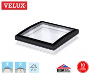 Velux Curved Glass Fixed Rooflight 060060 78cm x 78cm