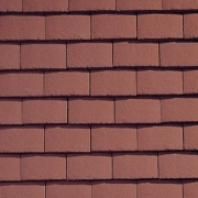 Plain Tile Terracotta Red Smoothfaced