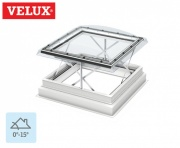 Velux Flat Roof Smoke Ventilation System 120120 Clear Dome 138cm x 138cm