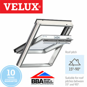 Velux Centre Pivot - White Painted Finish 78x98