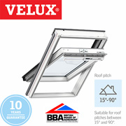 Velux Centre Pivot - White Polyurethane Finish 78x98