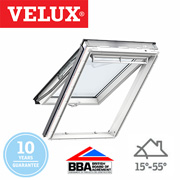 Velux Top Hung - White Painted Finish 94x140