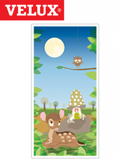 Velux DKL MK08 Manual Blackout Blind 78cm x 140cm - 4613 Disney Collection