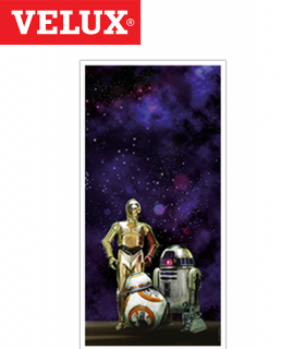 Velux DKL PK10 Manual Blackout Blind 94cm x 160cm - 4713 Star Wars Collection