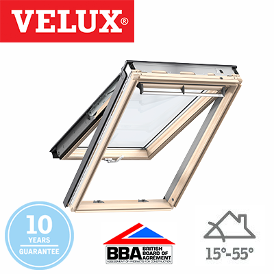 Velux Top Hung - Pine Finish 114x118