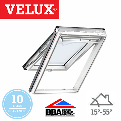 Velux Top Hung - White Painted Finish 55x118