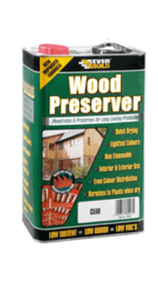 Everbuild Wood Preserver - Clear